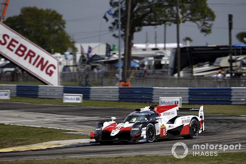 WEC, Sebring, Libere 1: la Toyota va subito sotto al record della pista