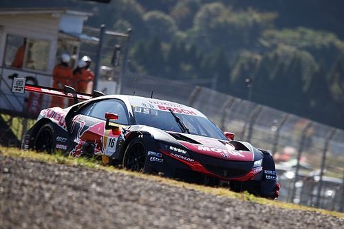 Autopolis SUPER GT: Mugen Honda claims pole by 0.007s