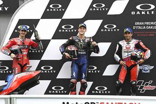 La grille de départ du GP d'Italie MotoGP