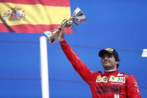"""Sainz: """"Rusya GP, Ferrari ile en iyi yarışımdı"""""""