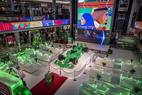 السعودية تسجّل رقماً قياسياً عالمياً لأكبر مجسم سيارة فورمولا واحد