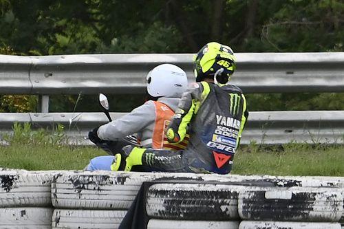 """Rossi: """"Cometí un gran error; podía haber ganado"""""""