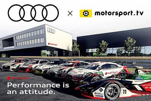 Audi Sport lanza un canal exclusivo con Motorsport.tv