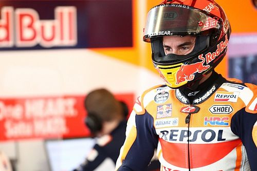 Marc Márquez incertain de pouvoir aller au bout de la course