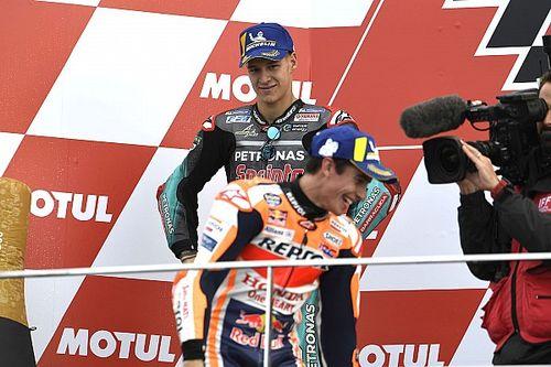 """Quartararo: """"No me hubiera gustado decir que gané el título sin Márquez"""""""