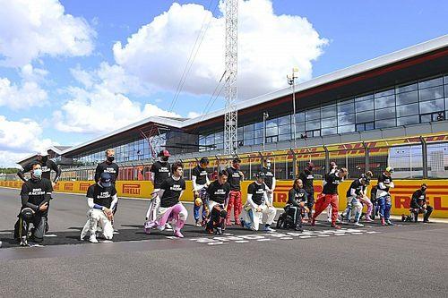 Magnussen explique pourquoi il n'a pas ployé le genou à Silverstone