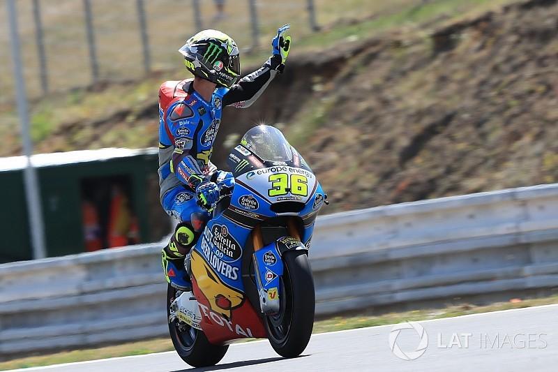 Moto2 Brno: Mir snelste man, Bendsneyder knap P14