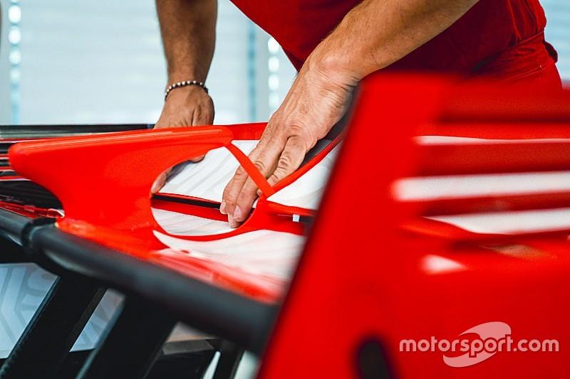 Ferrari avec une nouvelle livrée au GP du Japon