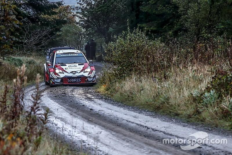 Britanya WRC: Tanak 8.9 saniye farkla lider!