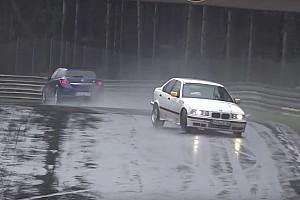 Відео: добірка аварій дорожніх машин на Нюрбургрингу