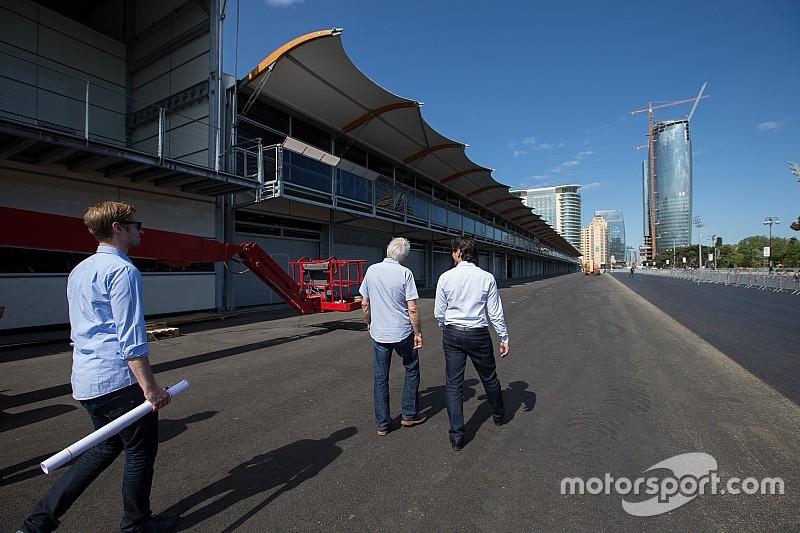 Video: ecco il camera car del primo giro sul tracciato di Baku!
