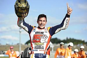 MotoGP Reporte de la carrera Márquez, tricampeón del mundo de MotoGP
