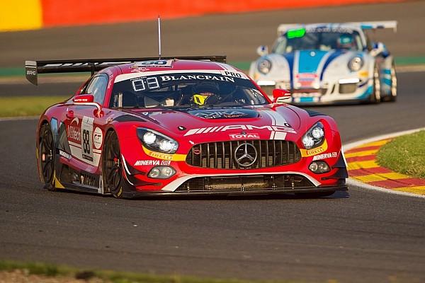 Blancpain Endurance Mercedes-AMG scores podium success in Spa 24-hour race