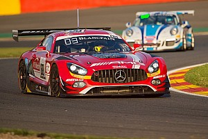 Blancpain Endurance Race report Mercedes-AMG scores podium success in Spa 24-hour race