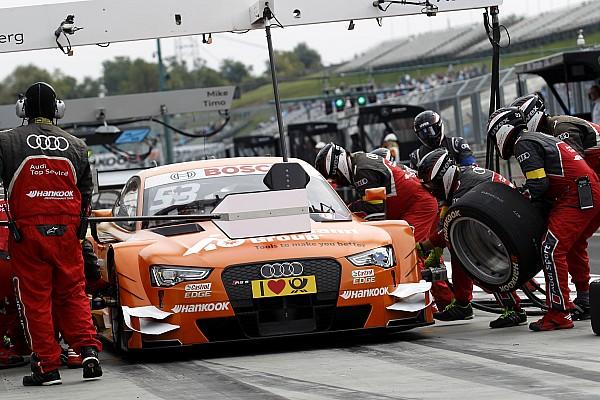 【DTM】アウディ、ドライバーラインアップが確定。アプトが台数縮小