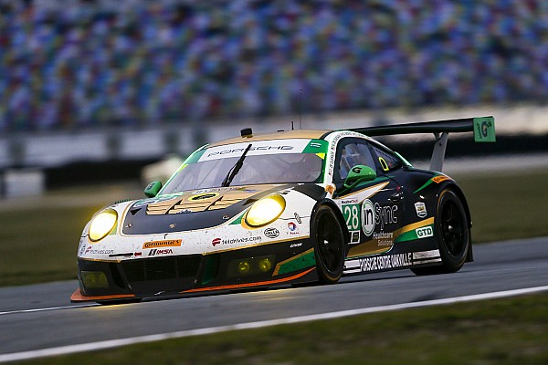 Alegra Porsche takes upset win: