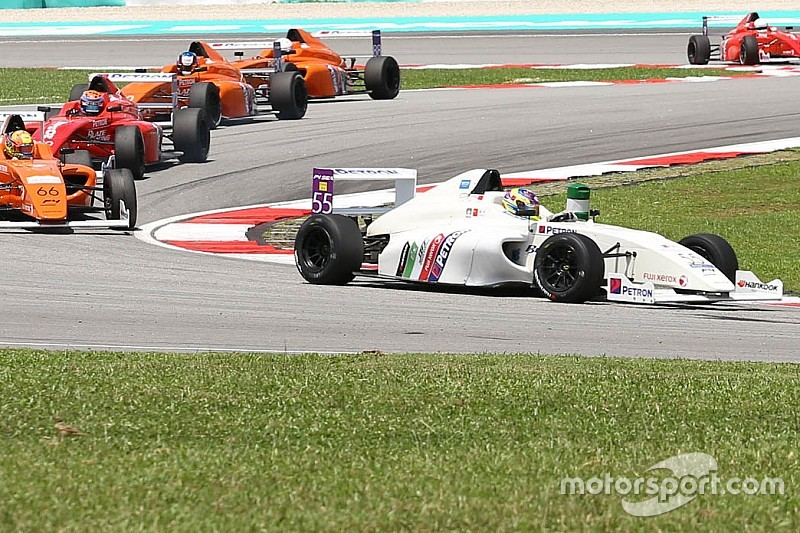 マレーシアGPのサポートレースで全車リタイアの珍事