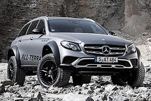 Auto Actualités La démesure du Mercedes Classe E All-Terrain 4x4²