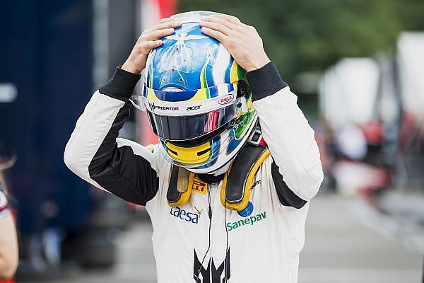 Камара одержал первую победу в «формулах», выиграв гонку Ф2 в Спа