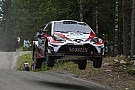 WRC Finland WRC: Latvala heads Toyota 1-2 on Friday morning