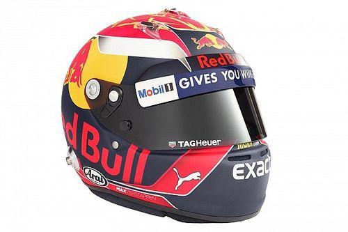 Fotogallery: il nuovo casco di Max Verstappen per il Mondiale 2017 di F.1