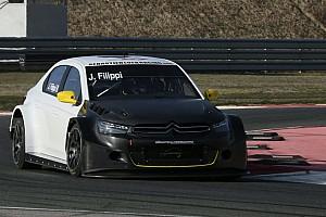WTCC Test Filippi contentissimo al termine dei test con la Citroën