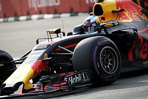 F1 练习赛报告 新加坡大奖赛FP1:里卡多全场最快,汉密尔顿无缘前三