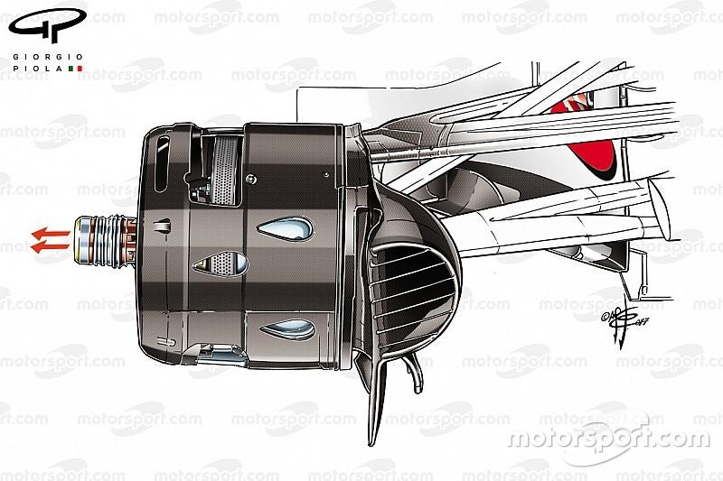 Formel-1-Technik: Ferraris Trick mit der angeblasenen Achse