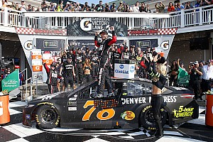 NASCAR Cup Race report Truex wins dramatic fuel-mileage race at Watkins Glen