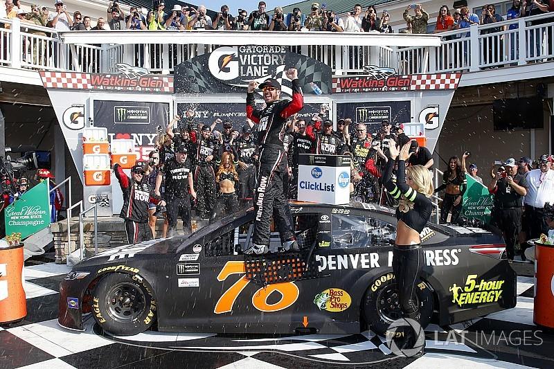 Truex wins dramatic fuel-mileage race at Watkins Glen