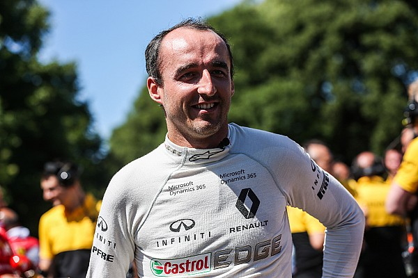 Formula 1 Breaking news Kubica not in frame for 2017 race chance, insists Renault