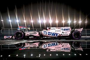 F1-es autó, amit csak ritkán láthatsz így