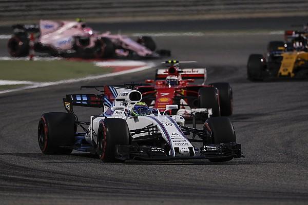 """F1 马萨专栏:""""三大""""之外,威廉姆斯最强"""