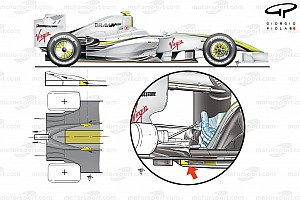 Формула 1 Избранное Техническое ретро: большое потрясение 2009-го