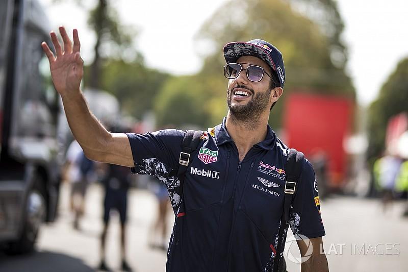Ricciardo espera por punição no grid em Monza