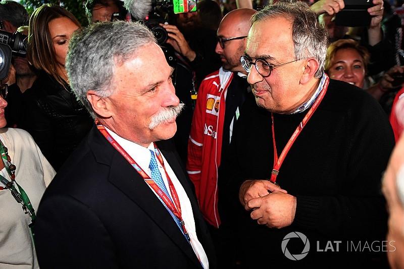 """Marchionne: """"Possibile un campionato alternativo alla F.1"""""""
