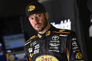 NASCAR Cup Breaking news Truex falls short of victory with late-race gamble