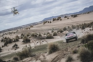 Dakar Stage report Dakar 2017, Stage 8: Loeb wins, snatches lead from Peterhansel