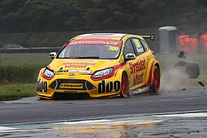 BTCC Breaking news Davenport in a coma after Croft BTCC qualifying crash