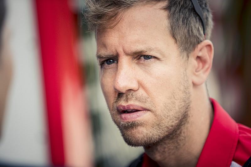 Vettel admite que forzó demasiado pero confía en su ritmo de carrera