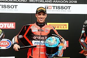 World Superbike Qualifying report Aragon WSBK: Melandri shades Rea by 0.031s for pole