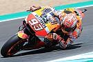 Jerez MotoGP: Marquez tops FP3, Dovizioso and Vinales to Q1