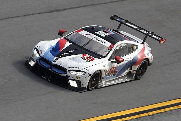 IMSA Catsburg tevreden over productief debuut van BMW M8 GTE