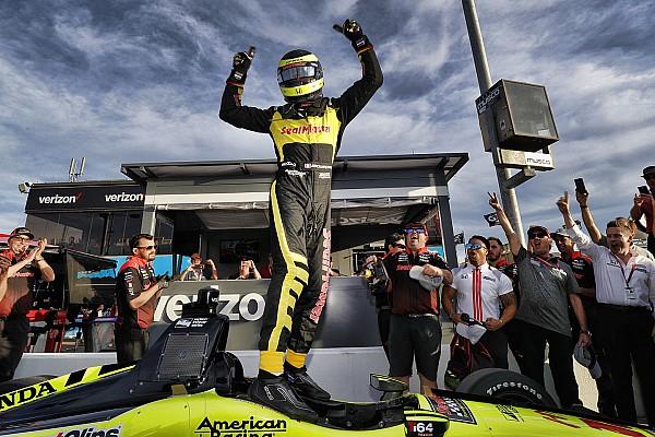 IndyCar IndyCar у Фініксі: Бурде виборов поул на овалі