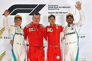 F1 レースレポート バーレーン決勝:ベッテルが2連勝! ガスリーは4位入賞の大健闘
