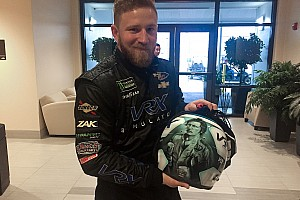 NASCAR Cup Breaking news Jeffrey Earnhardt to honor late grandfather with Daytona 500 helmet