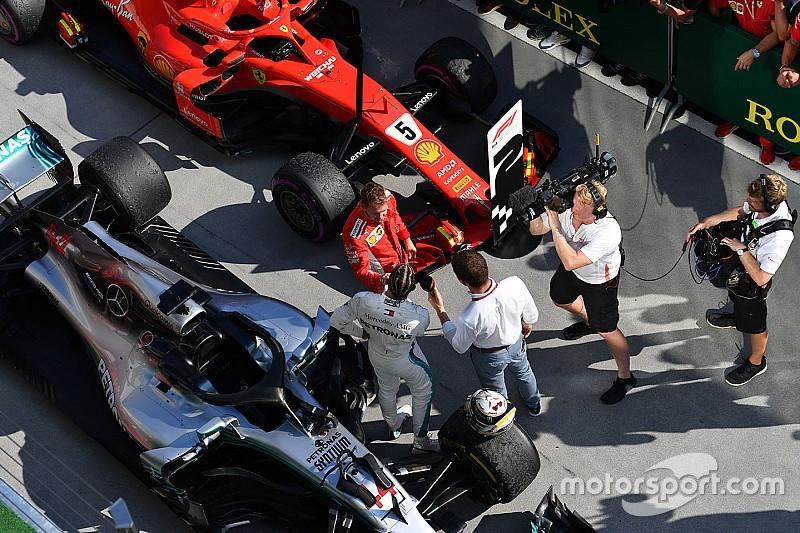 Hamilton et Vettel devraient avoir un moteur évolué