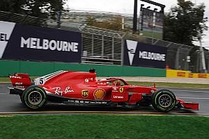 Formel 1 Melbourne 2018: Sebastian Vettel 2,4 Sekunden vor Räikkönen