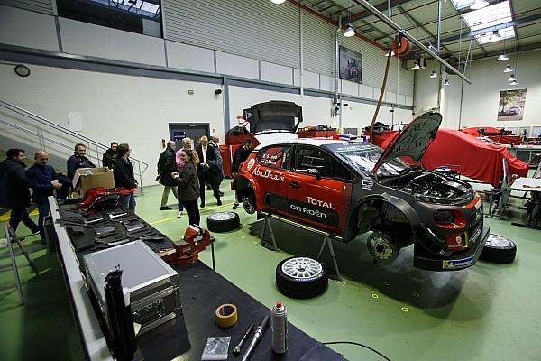 WRC I più cliccati Fotogallery: Motorsport.com visita il Reparto Corse di Citroen e Peugeot