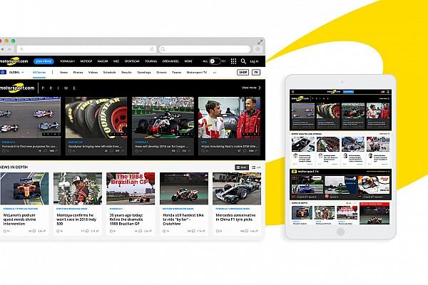 General Новини Motorsport.com Motorsport.com змінить дизайн та функціонал веб-сайту